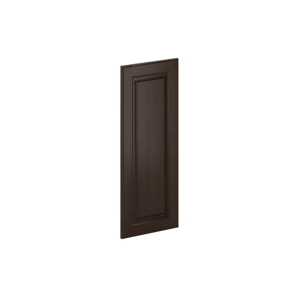 12x30x0.75 in. Madison Wall Deco End Panel in Java