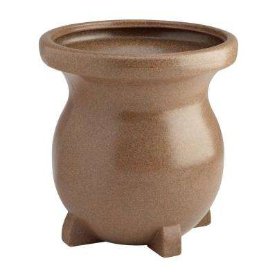 Large Decorative Planter - Sandstone-look