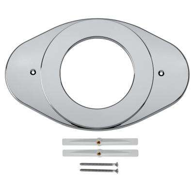 8.22 in. Renovation Cover Plate in Chrome