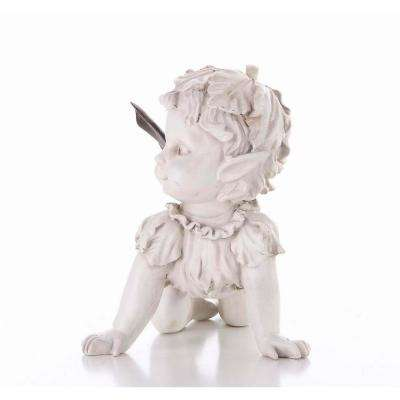 Baby Fairy Crawling Statue