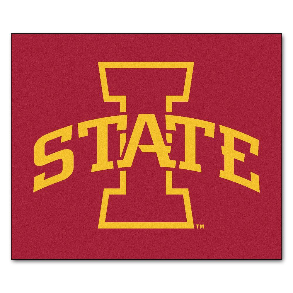 Iowa State University 5 ft. x 6 ft. Tailgater Rug