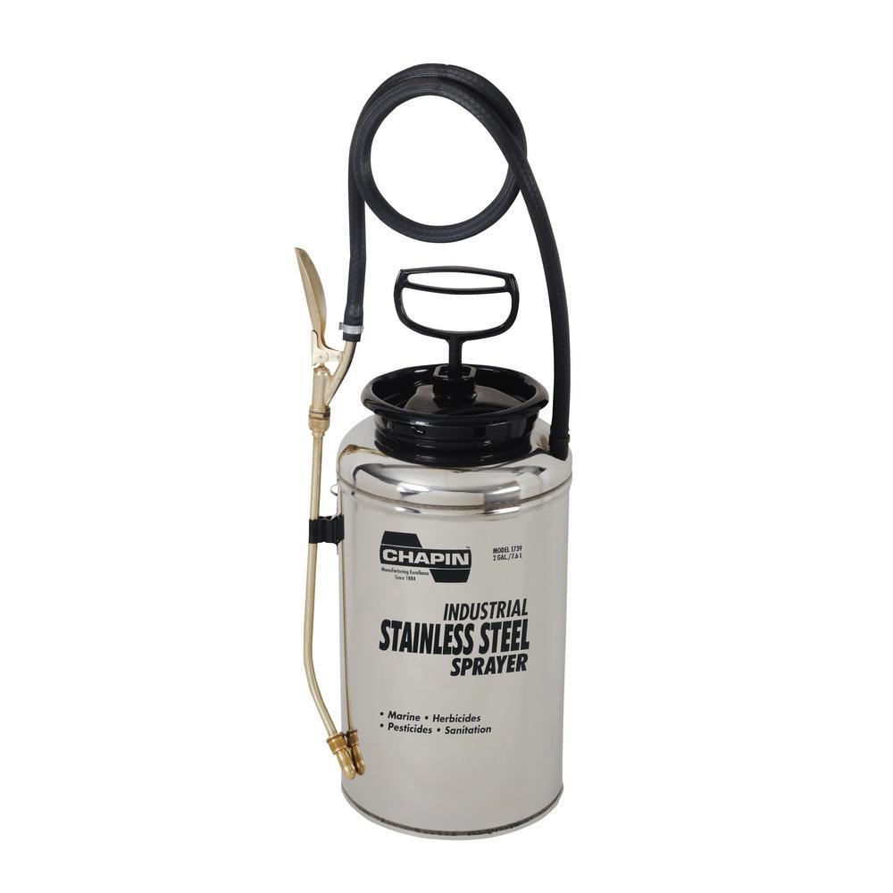 2 Gal. Industrial Stainless Steel Sprayer