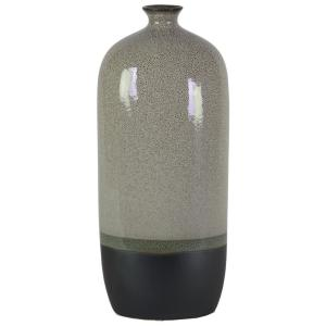 Urban Trends Collection Gray Gloss Stoneware Decorative Vase by Urban Trends Collection