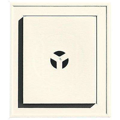Square Mounting Block #034 Parchment