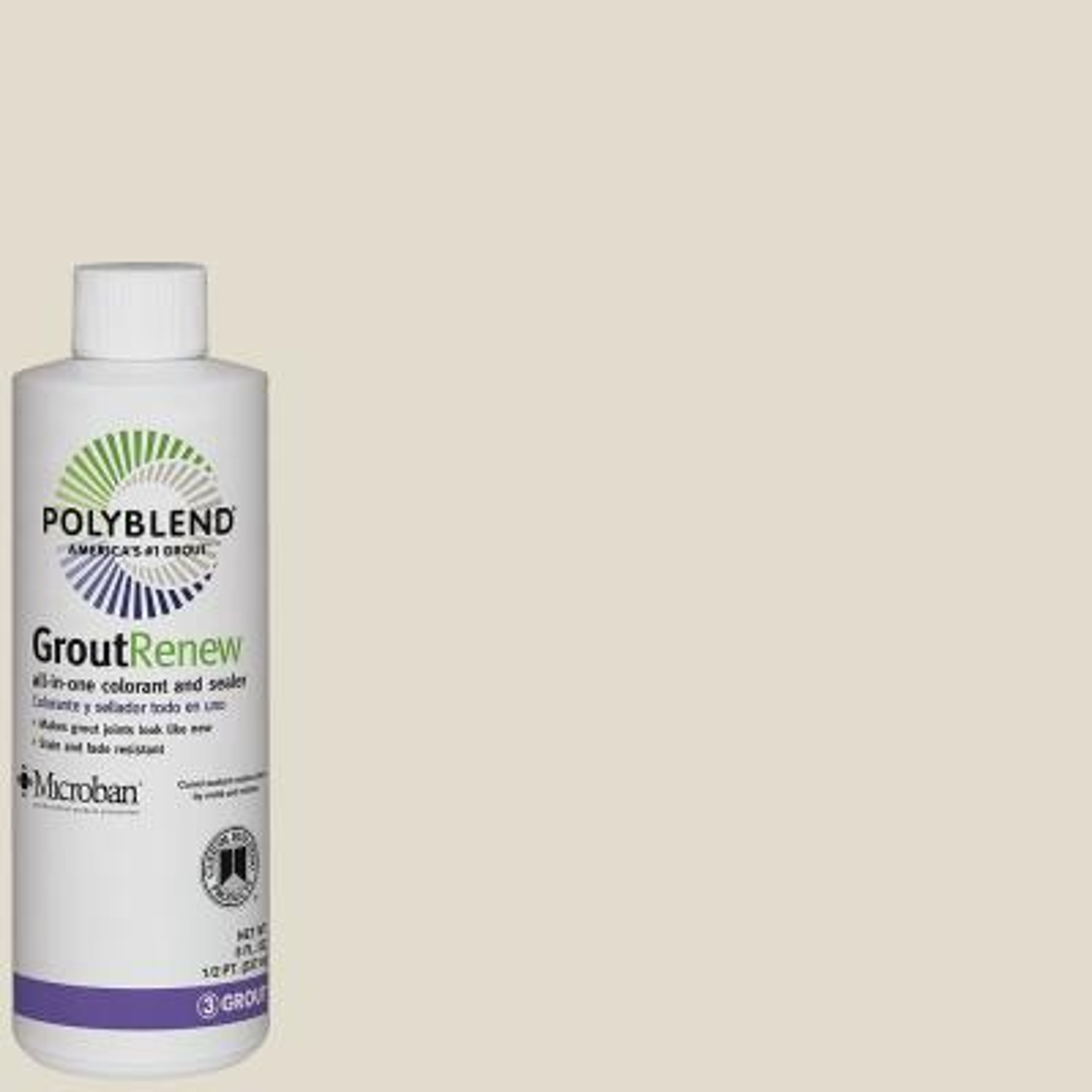 Polyblend #11 Snow White 8 oz. Grout Renew Colorant
