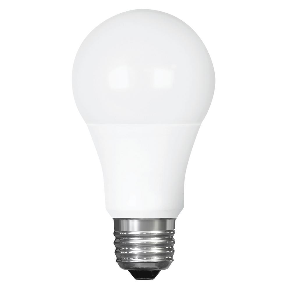 Feit Electric 60w Equivalent Warm White Chandelier B10: Feit Electric 60-Watt Equivalent Soft White G25 Dimmable