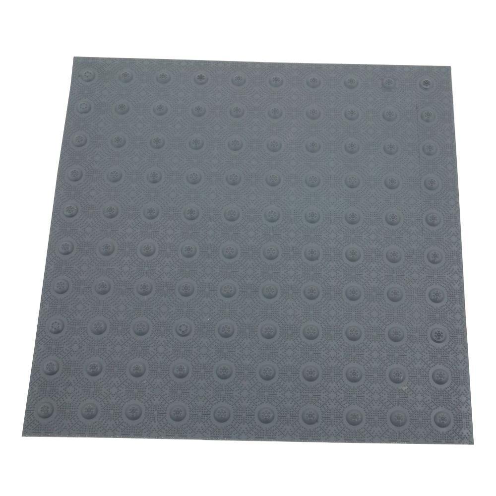 2 ft. x 2 ft. Dark Gray Detectable Warning Tile