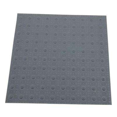 2 ft. x 2 ft. Dark Gray Detectable Warning Tile