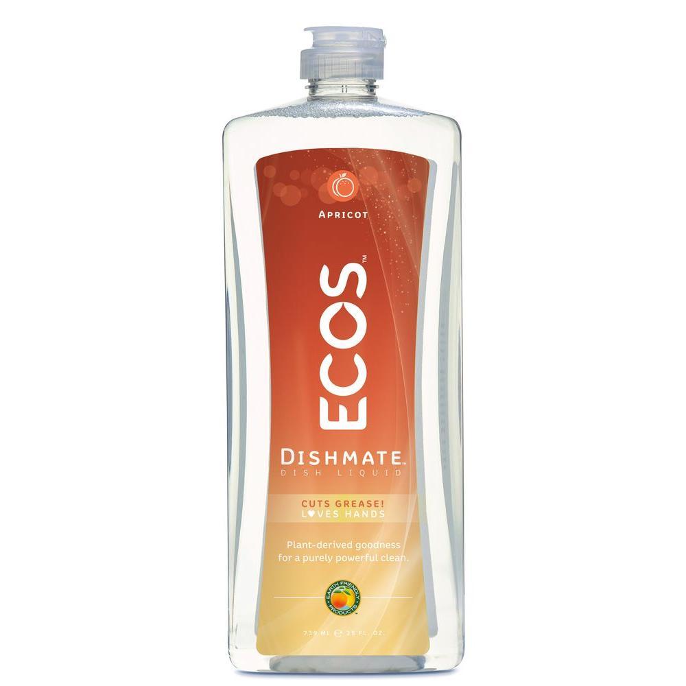 25 oz. Squeeze Bottle Ultra Dishmate Apricot Scent Dishwashing Liquid