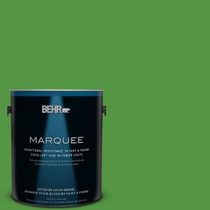 1-gal. #430B-7 Cress Green Satin Enamel Exterior Paint