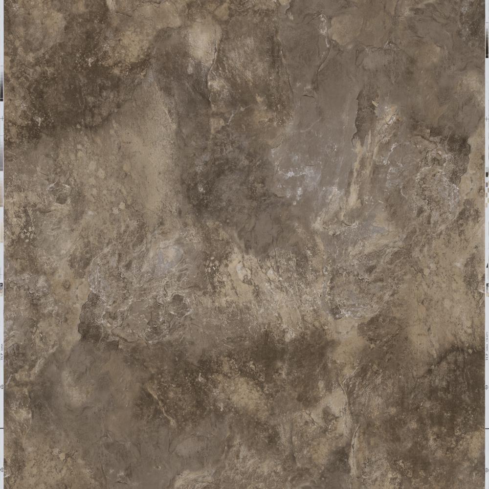 Take Home Sample - Peel and Stick Chestnut Slate Vinyl Tile - 5 in. x 7 in.