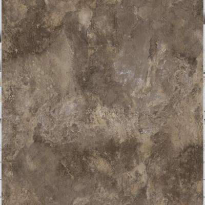 Take Home Sample - Chestnut Slate Peel and Stick Vinyl Tile - 5 in. x 7 in.