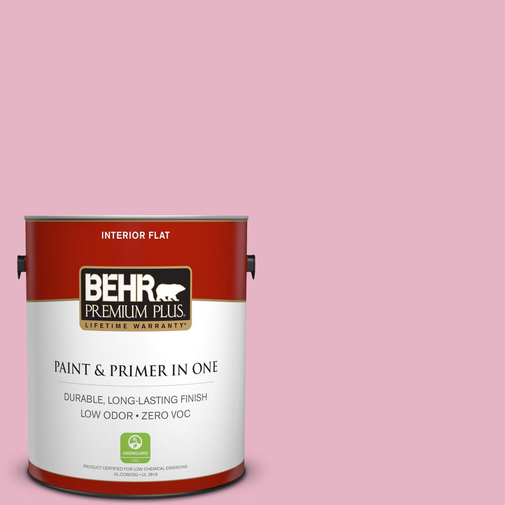 1 gal. #HDC-SP16-10 Japanese Rose Garden Zero VOC Flat Interior Paint