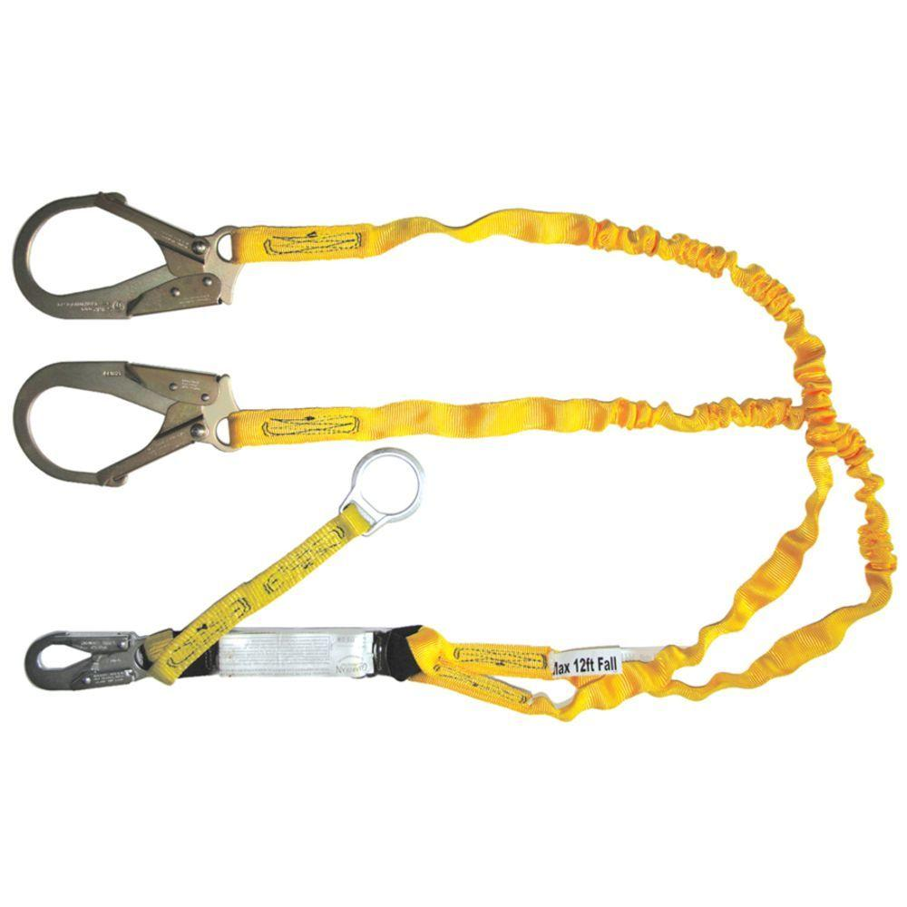 Qualcraft 6 ft. Double Leg Heavy Duty Lanyard