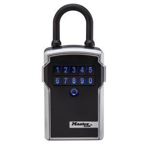 Master Lock Bluetooth 9.7 cu. inch Portable Lock Box with Backup Keypad Entry, Black and... by Master Lock