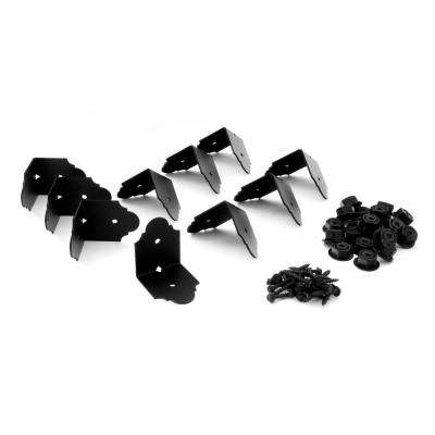 4 in. x 4 in. Galv. St. Rafter Clip Angle Brackets (10 Per Box)