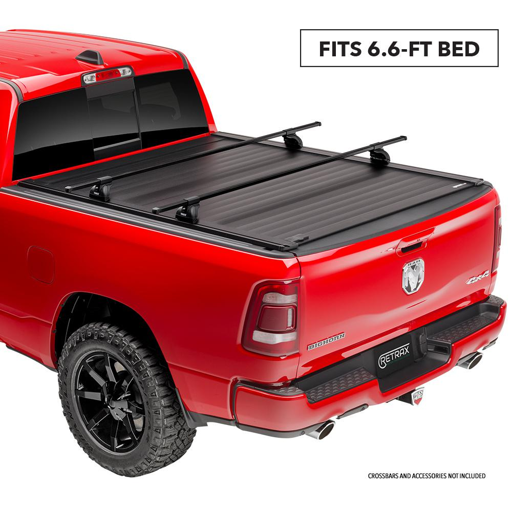 Retrax Pro Xr Tonneau Cover 09 14 Ford F150 Supercrew Supercab Regular Cab 6 6 Bed W Out Stake Pockets T 80372 The Home Depot