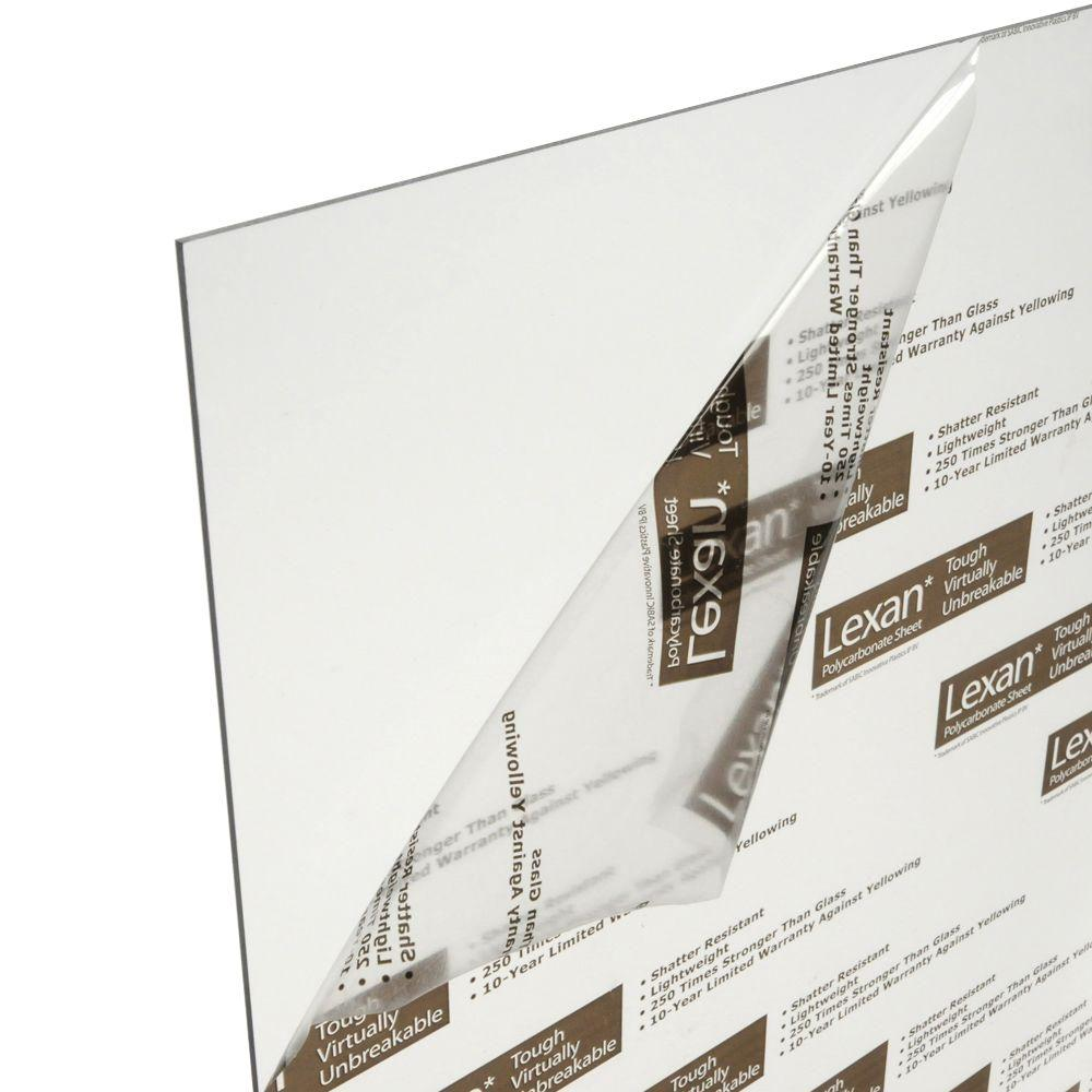 LEXAN 36 in. x 72 in. X .093 in. Polycarbonate Sheets (6-Pack)