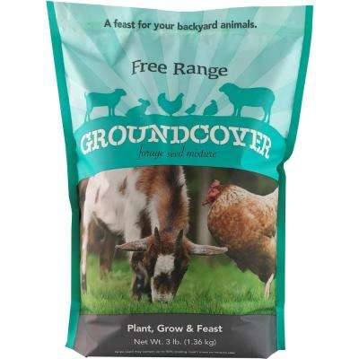 3 lbs. Free Range Groundcover Forage Seed Mixture