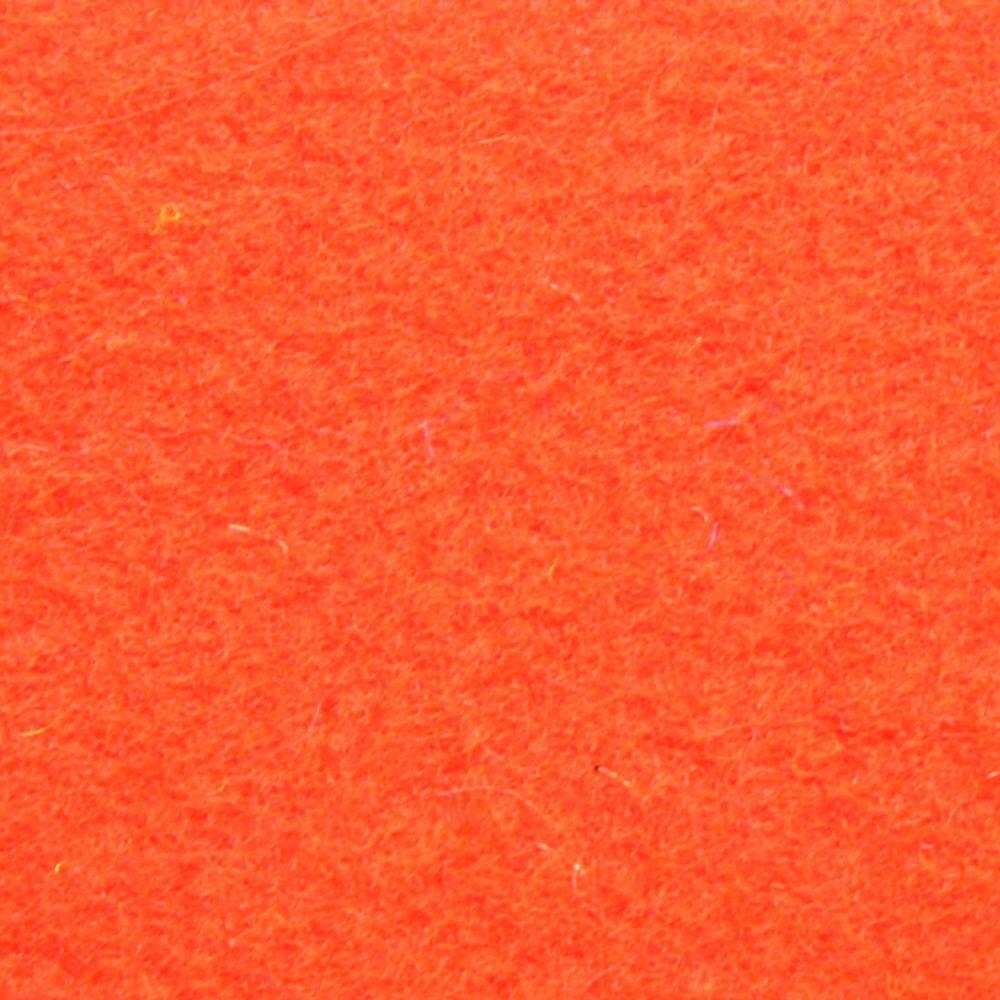 ALMA Fluo Red 6 ft. 6 in. x Your Choice Length Indoor/Outdoor Carpet/Roll Runner