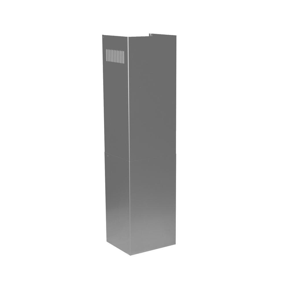 Zline Kitchen And Bath Zline 36 In. Chimney Extension For 9 Ft. To 10 Ft. Ceilings