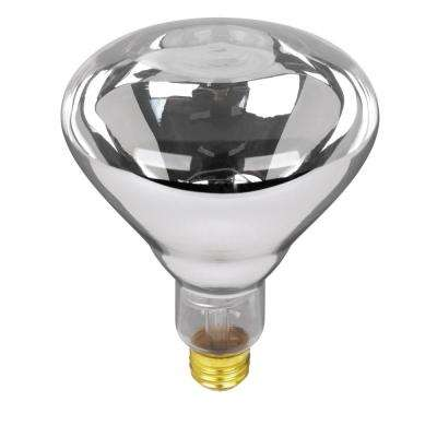125-Watt Soft White (2700K) BR40 Dimmable Incandescent 120-Volt Heat Lamp Light Bulb