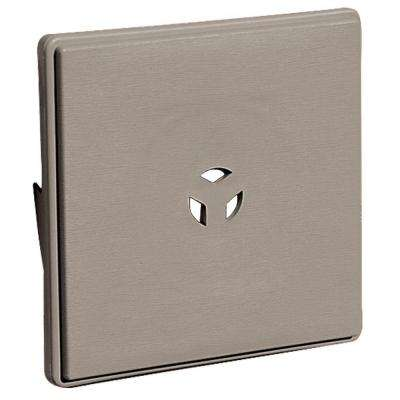 6.625 in. x 6.625 in. #008 Clay Surface Mounting Block for Dutch Lap Siding