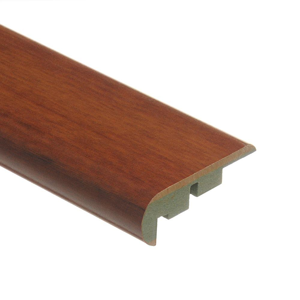 Zamma Maraba Hickory 3/4 in. Thick x 2-1/8 in. Wide x 94 in. Length Laminate Stair Nose Molding