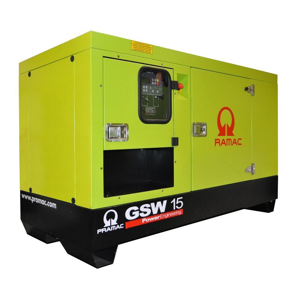 null 13,300-Watt Liquid Cooled Diesel Standby Generator