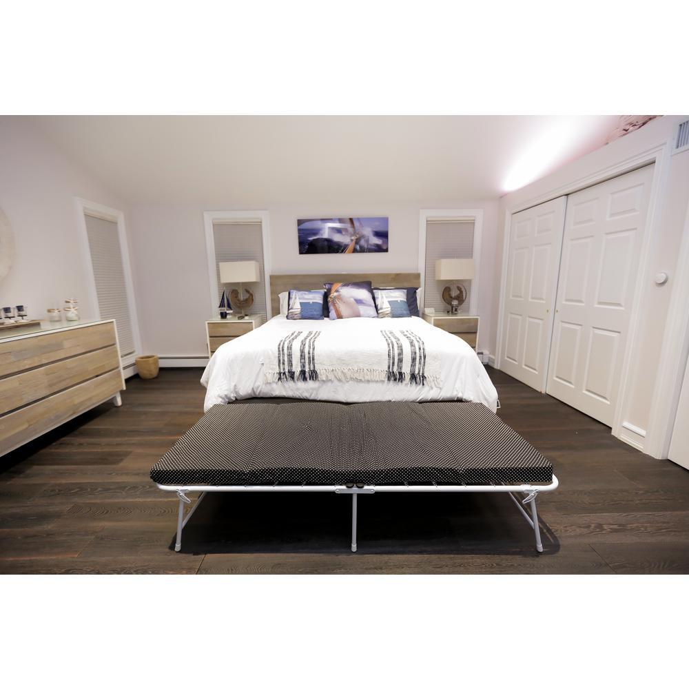 SpaceMaster iBED Rollaway Memory Foam Guest Bed