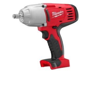 Click here to buy Milwaukee M18 18-Volt Lithium-Ion Cordless 1/2 inch Impact Wrench W/ Friction Ring (Tool-Only) by Milwaukee.