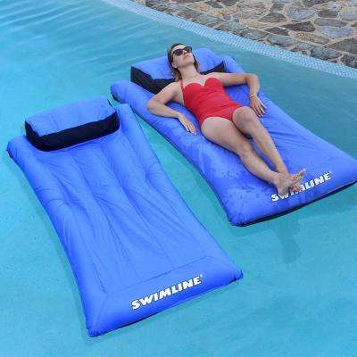 Ultimate Super-Sized Floating Mattress Pool Float (2-Pack)