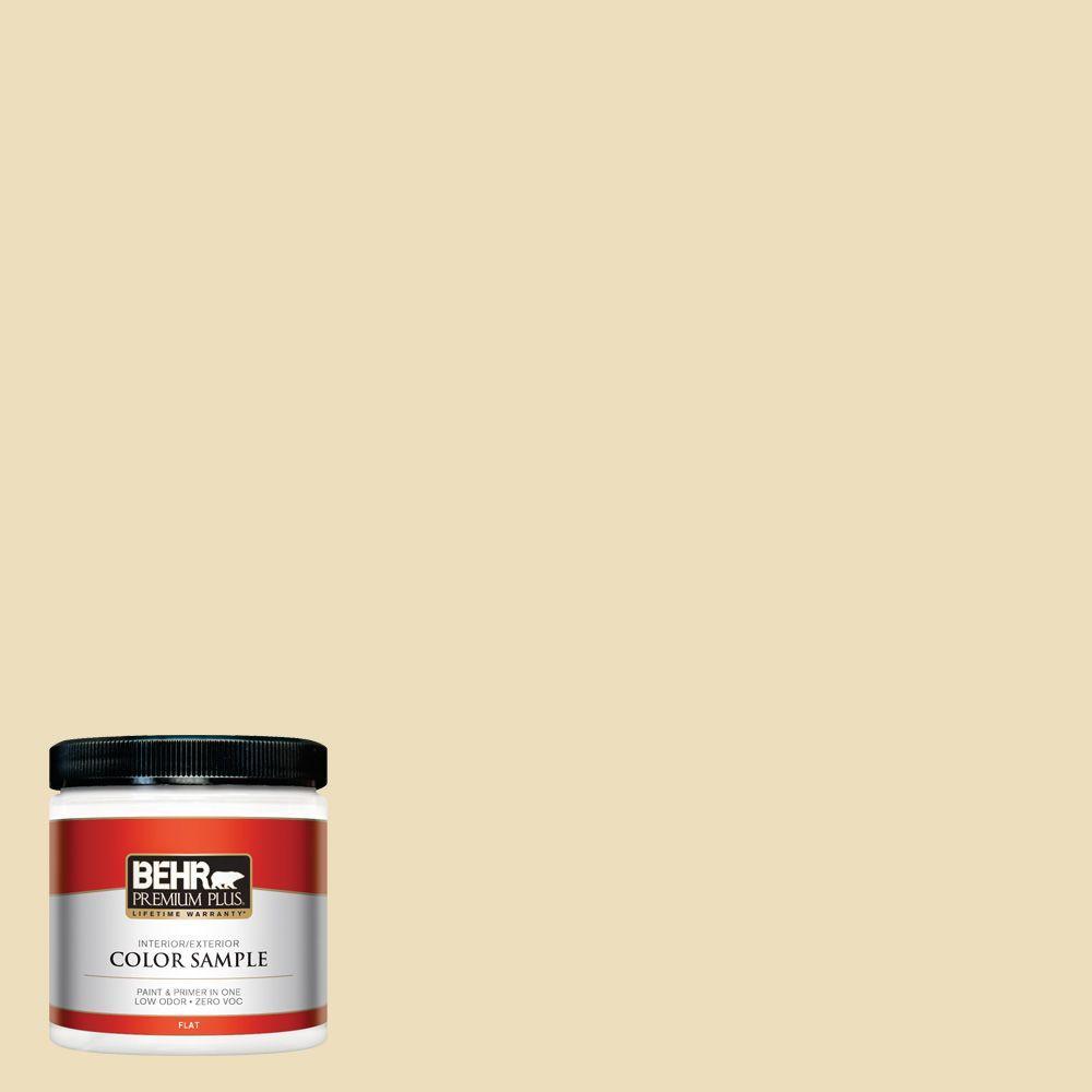 BEHR Premium Plus 8 oz. #380E-3 Satin Souffle Interior/Exterior Paint Sample