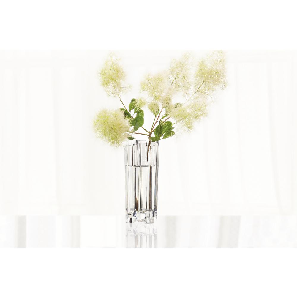 Nachtmann Hikari 12 in. Crystal Decorative Vase, Clear