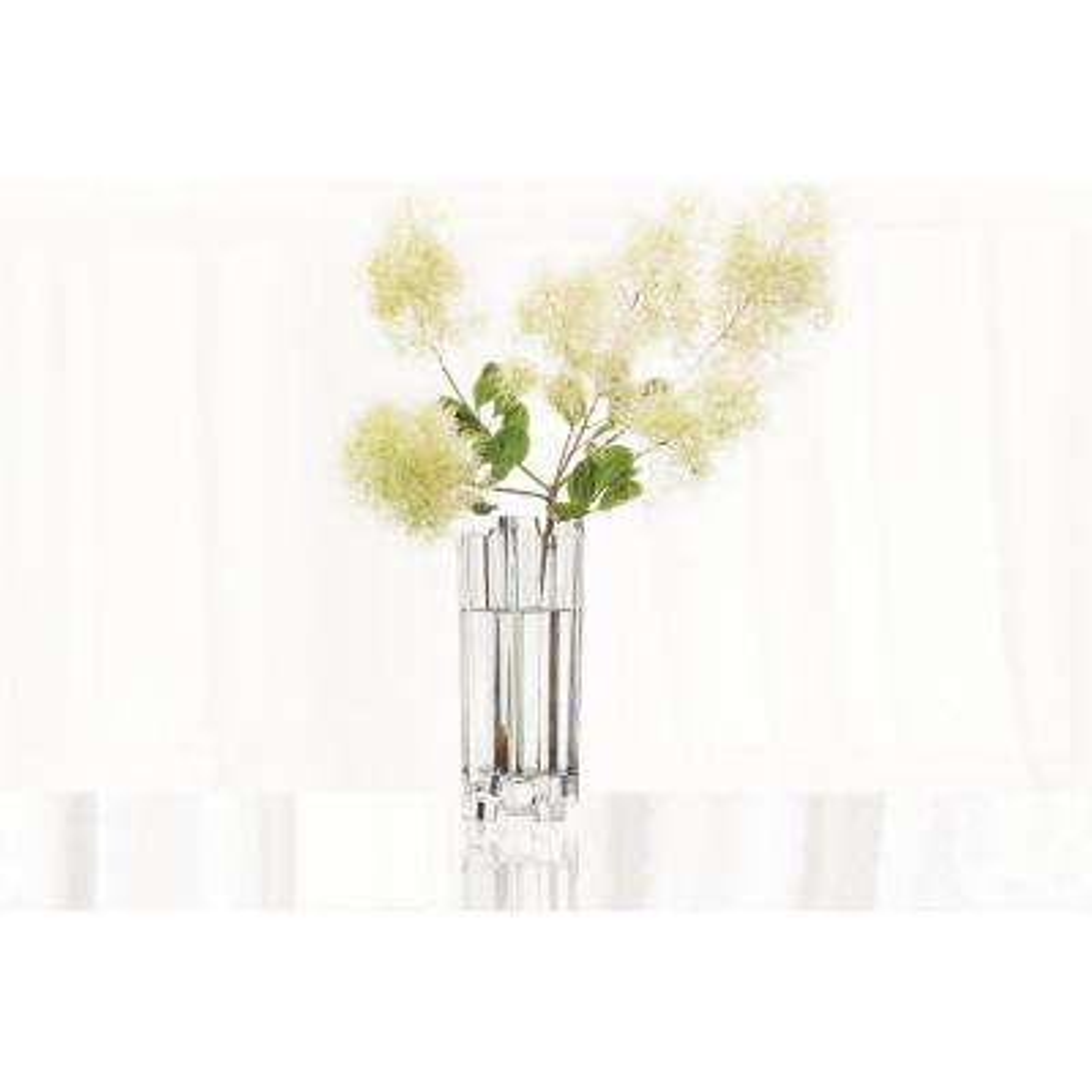Hikari 12 in. Crystal Decorative Vase