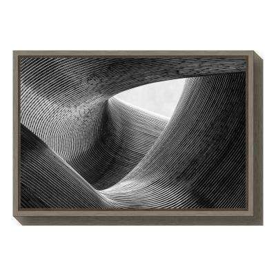 """""""lines"""" by Peter Pfeiffer Framed Canvas Wall Art"""