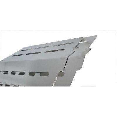 13.25 in. Heat Deflector with Front Mounted Control