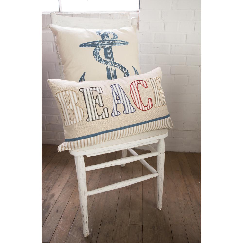 Beach Living Beach Decorative Pillow