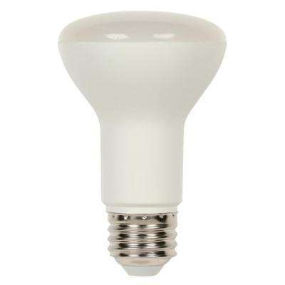 50W Equivalent Bright White R20 Dimmable LED Light Bulb
