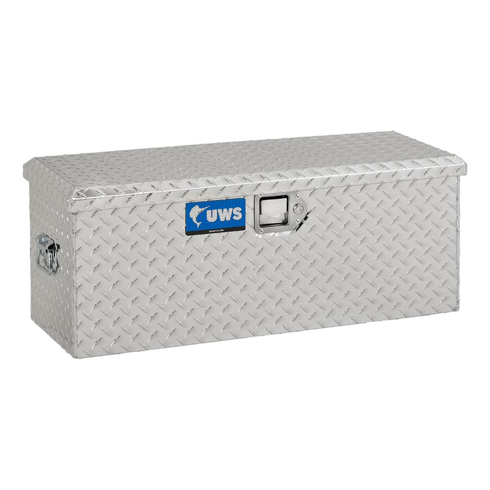 Small Truck Tool Box >> Uws 37 00 In Silver Aluminum Full Size Crossbed Truck Tool Box