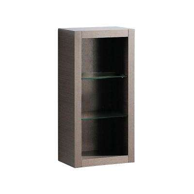 Allier 15-1/4 in. W x 32 in. H x 10 in. D Bathroom Linen Storage Cabinet in Gray Oak