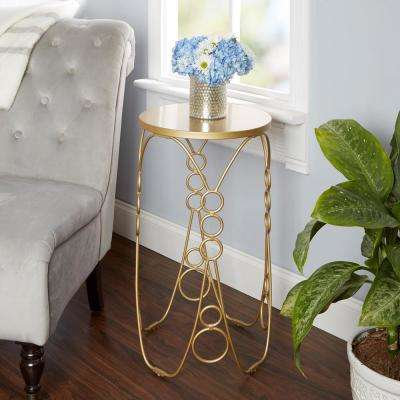Nora Gold End Table