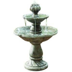 2-Tier Cement Fountain