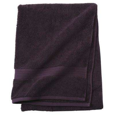 Newport 1-Piece Bath Towel in Plum