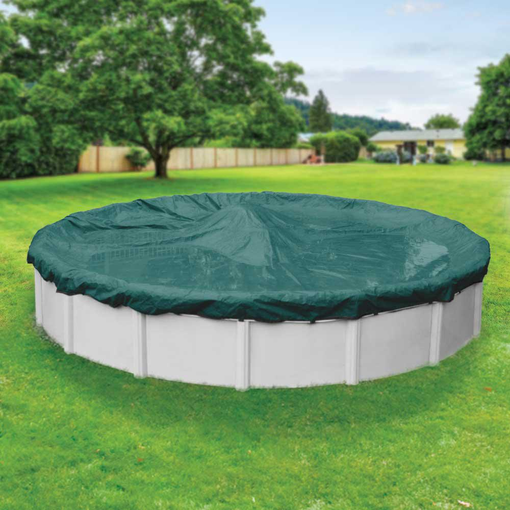 Robelle supreme plus 15 ft pool size round teal solid for 15 ft garden pool