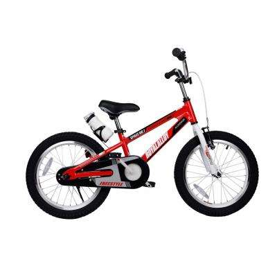 18 in. Wheels Space No. 1 Kid's Bike, Boy's Bikes and Girl's Bikes, Light Weight Aluminum in Red