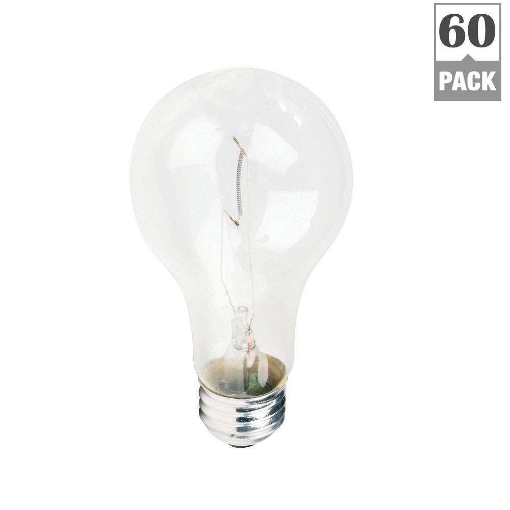 Philips 116-Watt A21 Clear Traffic Signal Incandescent Light Bulb (120-Pack)-DISCONTINUED