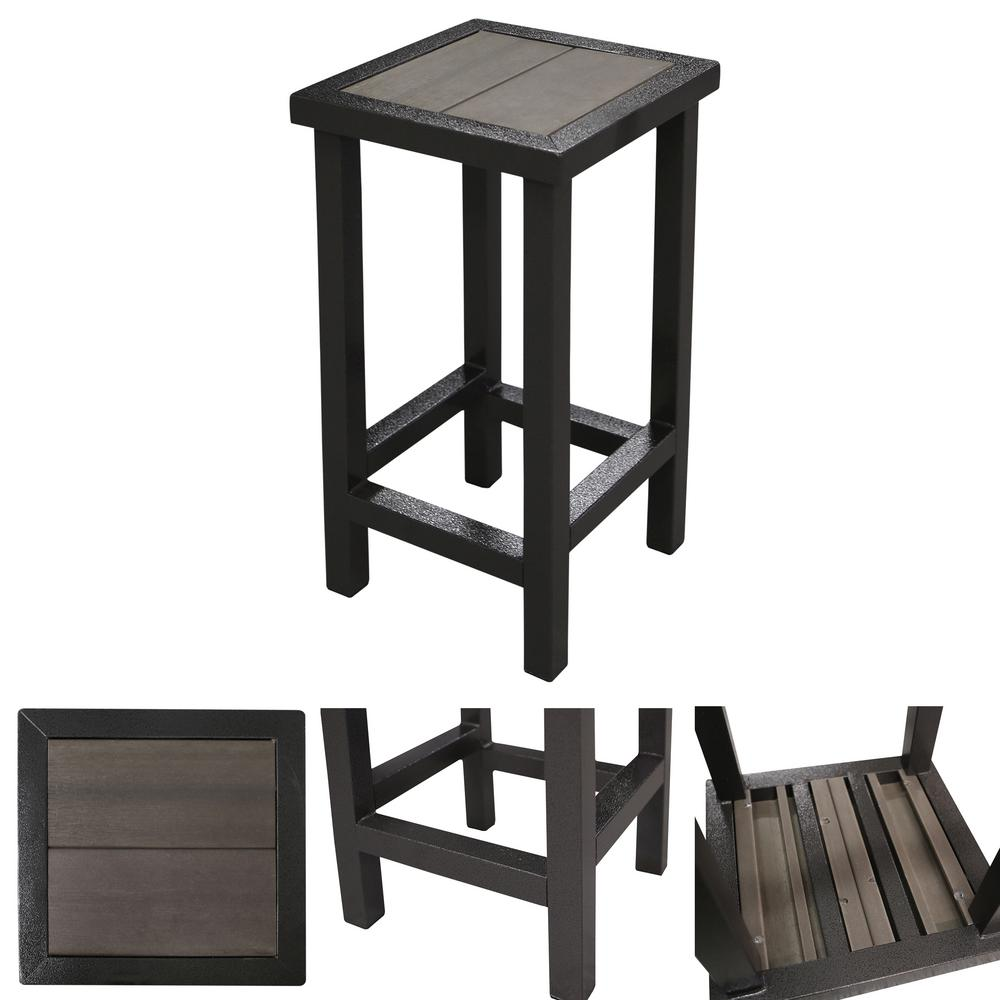 Strange Cal Flame Paradise Luxury Metal Outdoor Patio Bar Stool Gmtry Best Dining Table And Chair Ideas Images Gmtryco