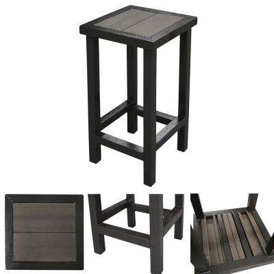 Paradise Luxury Metal Outdoor Patio Bar Stool