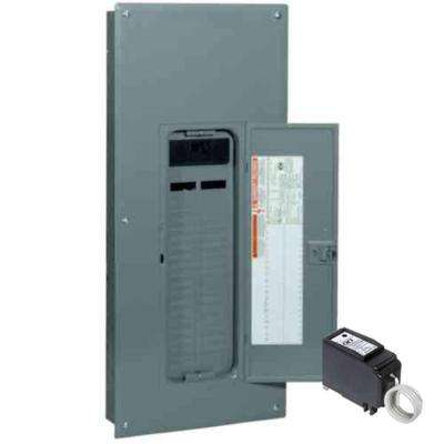 QO 200 Amp 42-Space 42-Circuit Indoor Main Breaker Plug-On Neutral Load Center with Cover, Surge SPD